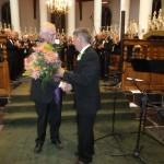 Felicitaties aan onze dirigent
